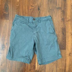 AMERICAN EAGLE extreme flex grey-blue men's shorts